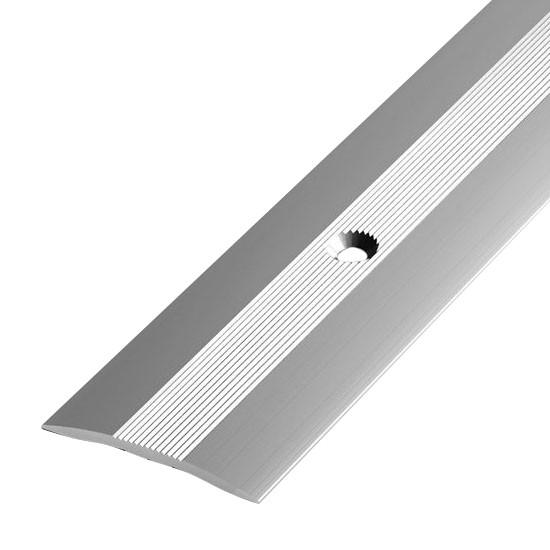 Алюминиевый профиль арт. 400 01/серебро 40х3х1800 мм