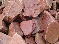 Бутовый камень малиновый (Фракция:-100-150мм)