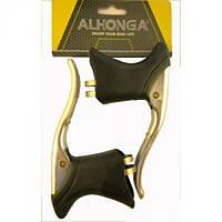 Тормозные ручки Alhonga (шоссейные) с резинками