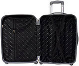 Пластиковый дорожный чемодан на колесах Bonro Smile маленький бордовый, фото 3