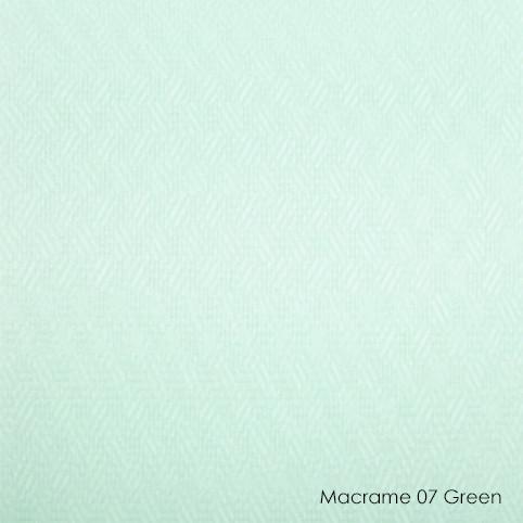 Вертикальные жалюзи Macrame-07 green