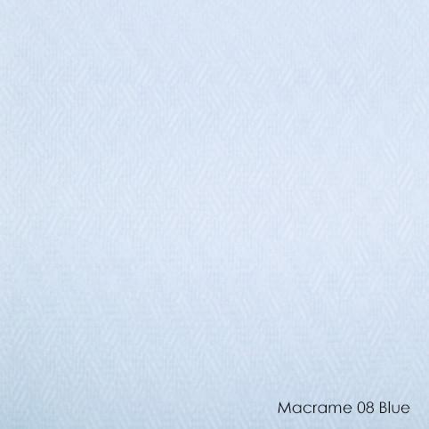 Вертикальные жалюзи Macrame-08 blue