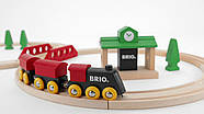 BRIO Classic НАБОР Ж/д с вокзалом 33028, фото 3