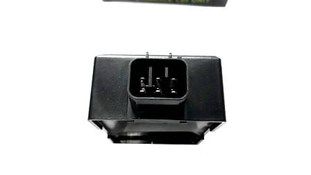 Коммутатор SUZUKI LETS 3/LETS DX (біла - фіолетова точка), фото 2