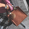 Сумка женская классическая с ручками Elli Коричневый, фото 2