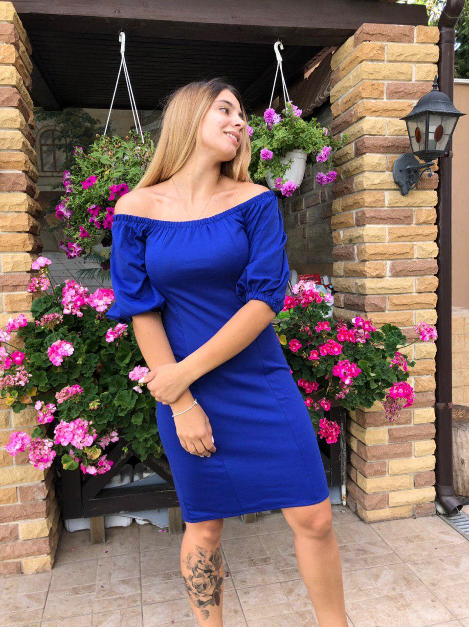 Коктейльное платье 2075