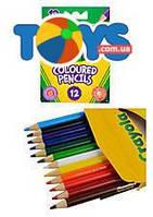 Карандаши цветные, 12 цветов Coloured pencils, 4112