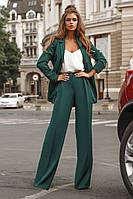 Женский стильный пиджак из креп - костюмки 40 - 46 рр