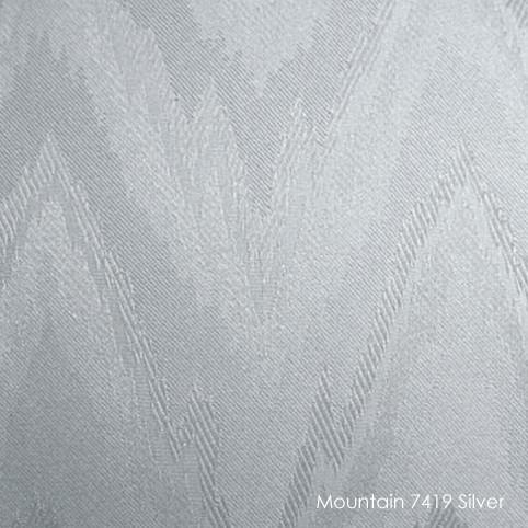 Вертикальные жалюзи Mountain-7419 silver