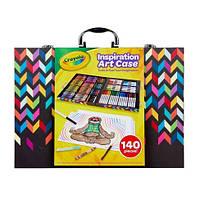 Арт кейс Crayola Набір для малювання 140 Count Art Set, Imagination Inspiration Art Case