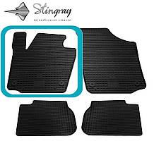 Seat Toledo IV 2012- Водительский коврик Черный в салон