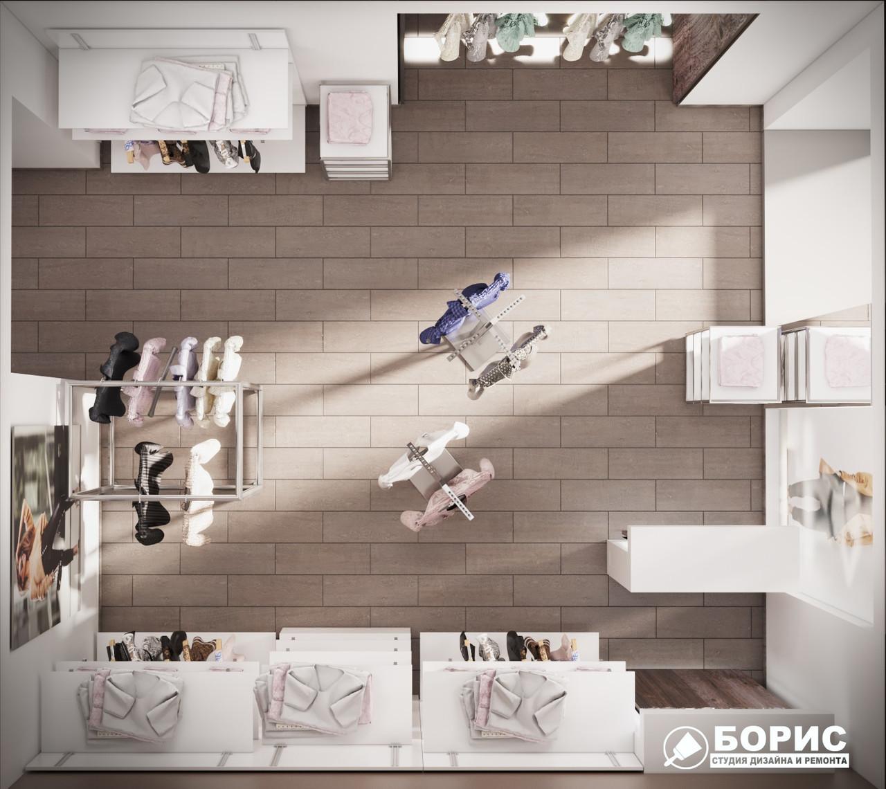 Дизайн интерьера коммерческой недвижимости: магазина, офиса, кафе, ресторана от 100грн/м2 по Украине