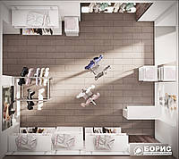 Дизайн интерьера коммерческой недвижимости: магазина, офиса, кафе, ресторана от 100грн/м2 по Украине, фото 1
