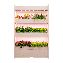 Вертикальный сад Wall farm Click & Grow