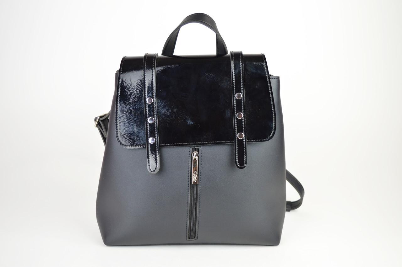 Рюкзак женский черный Voila 1814861