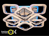 Люстра светодиодная потолочная AS8060/4+4HR LED 3color dimmer