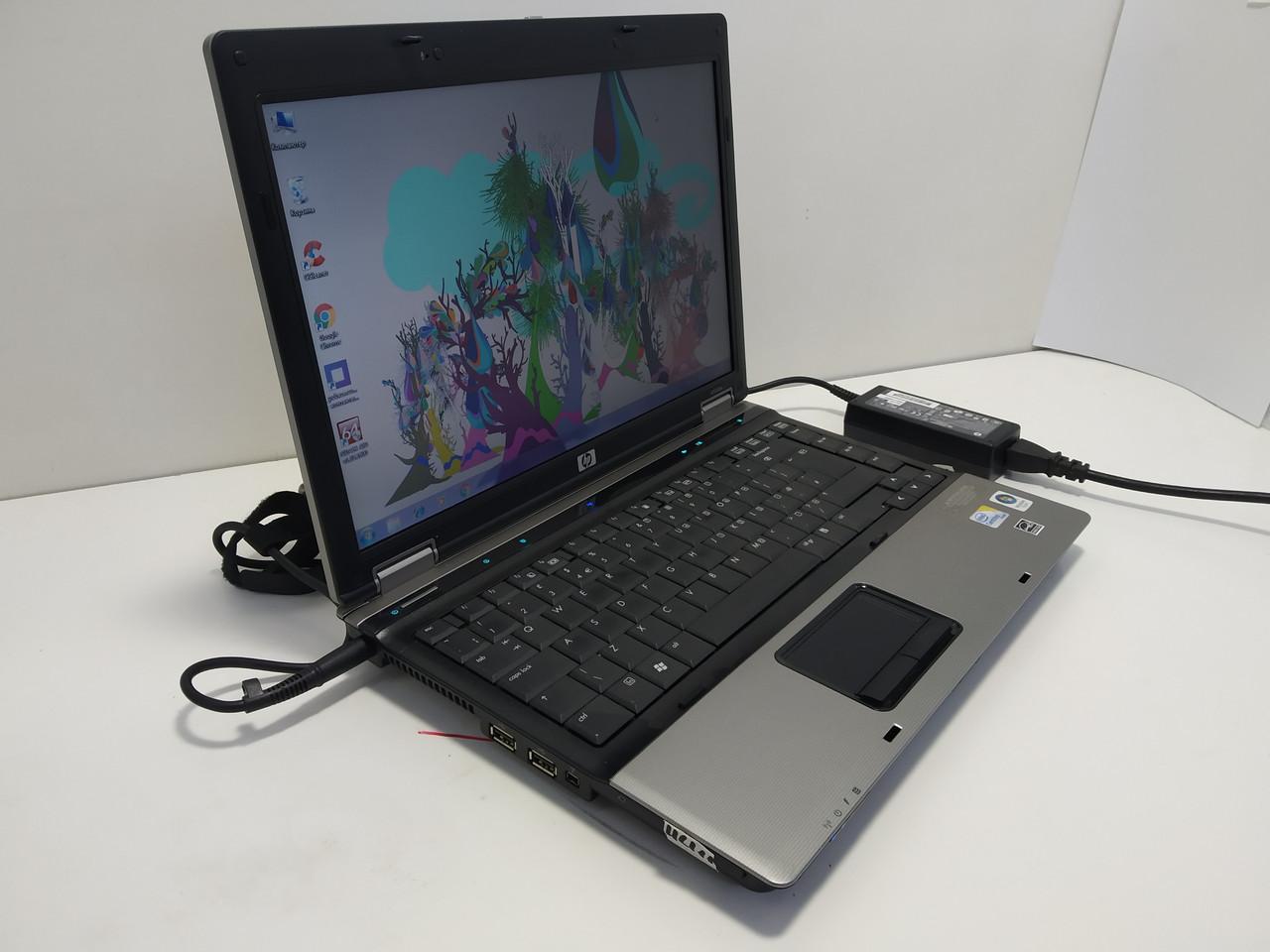 """14.1"""" HP Compaq 6530b 2 ядра p8400 2.26, 3 Гб ОЗУ, 120 ГБ HDD, батарея до 2 часов, Уценка\ Настроен"""