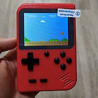 Портативная игровая ретро приставка 400 игр dendy денди для двух игроков SEGA 8bit Game Box красная