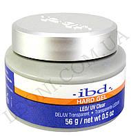 Конструирующий прозрачно-розовый гель IBD LED/UV Gel Clear (56 г)