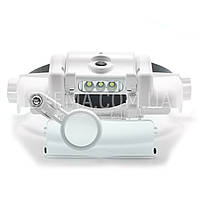 Бинокулярные лупы очки Magnifier 81000SC 1,5x-11,5x мощная Led подсветка, встроенный аккумулятор !