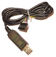 USB - TTL FT232RL на FTDI чипе.