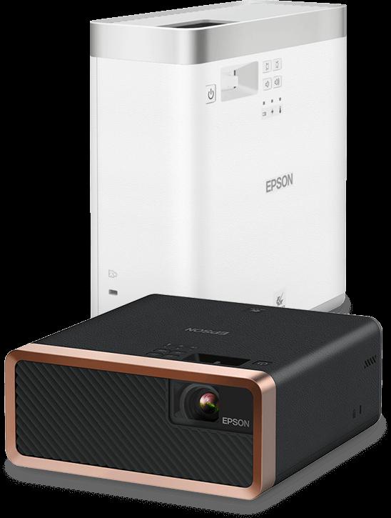 Epson EF-100 мобильный лазерный проектор для домашнего кинотеатра