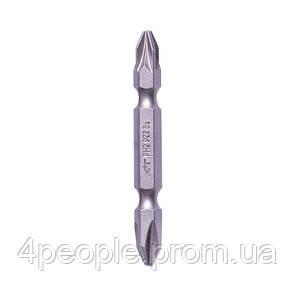Насадка (бита) Dnipro-M PH2-PZ2 60 мм (S2) (2 шт.), фото 2