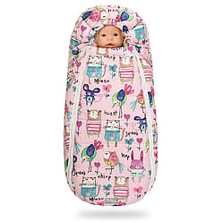Зимний конверт DoRechi Baby XS 75x45 Розовый с рисунком (33206)