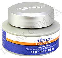 Конструирующий прозрачно-розовый гель IBD LED/UV Gel Clear (14 г)