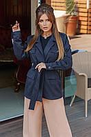 Женская куртка из замша на дайвинге с 42 по 46 рр, фото 1