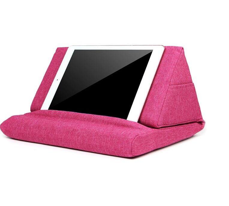 Охолоджуюча подушка-підставка SUNROZ Pillow Table для планшета Рожевий (SUN5412)