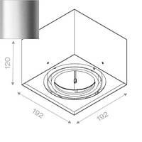 Точечный светильник Aquaform 40711-01, фото 1