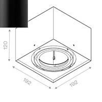 Точечный светильник Aquaform 40711-02, фото 1
