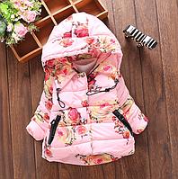 Весняно-осіння курточка для немовлят