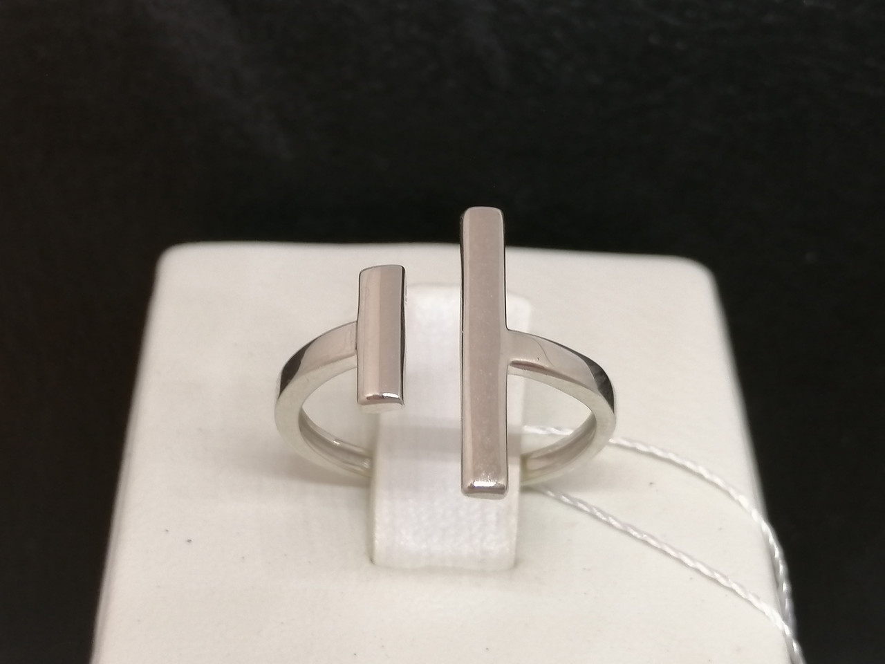 Срібне кільце. Артикул КБ473С 16,5