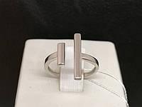Срібне кільце. Артикул КБ473С 16,5, фото 1
