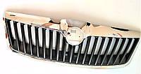 Решітка радіатора капота в зборі з хром рамкою Шкода Октавія А5 Skoda Octavia A5 FL після 2008 SkodaMag, фото 1