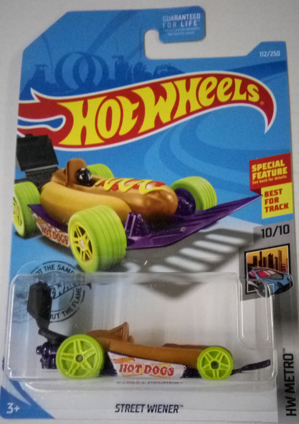 Машинка Hot Wheels 2019 Street Wiener