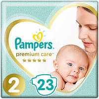 Подгузники Pampers Premium Care Размер 2 (4-8 кг) 23 шт  памперс премиум