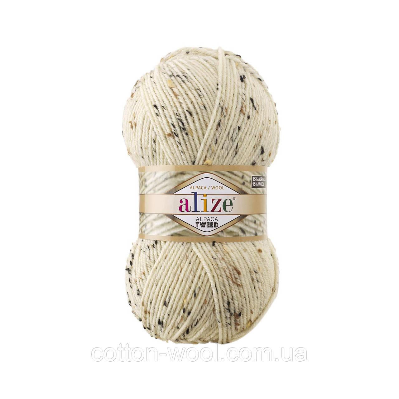 Alpaca Tweed (Альпака Твід) (15% - вовна, 15% - альпака, 5% - віскоза, 65% - акріл) 01
