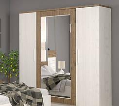 Шкаф 4Д МАРКОС (Андерсон пайн) Мебель-Сервис