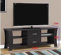 ТВ Тумба с выдвижными ящиками