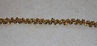 Тесьма декоративная люрекс золото  6162