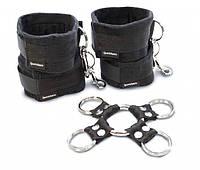 Набор для фиксации рук и ног Sportsheets Hog Tie & Cuff Set, фото 1