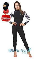 Мультифункциональное женское термобелье  Radical Shooter Black + балаклава в подарок (r1143w)