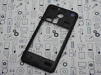 Средний корпус Blackview A7 Pro черный Сервисный оригинал с разборки