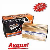 Преобразователь постоянного тока 300W Power Inventer (чистая синусоида)