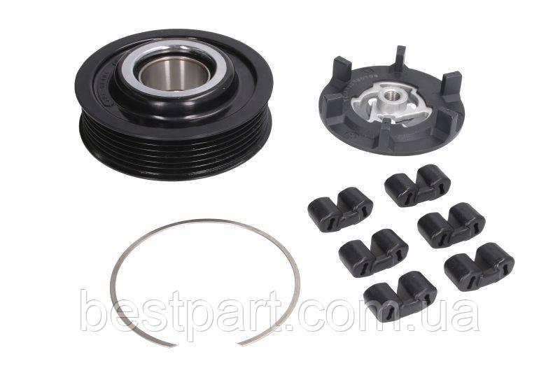Муфта компрессора кондиционера (DENSO 6SE/ 7SE 6PK 100mm) AUDI A4, A6, A6 ALLROAD; SEAT EXEO, EXEO S
