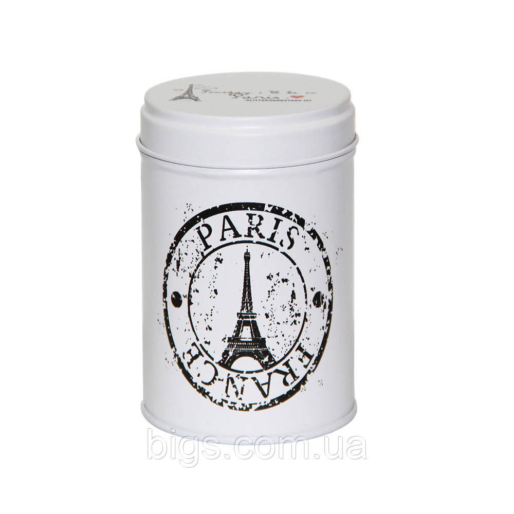 Железная банка для мелочей 75г 1 день в Парижі