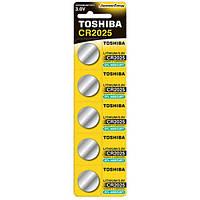 Батарейка Toshiba CR2025 BP 1X5